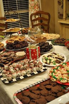 There's only 1 week left until Christmas!! Have you made Christmas cookies yet?? Some girlfriends helped me throw a cookie exchange party, s...
