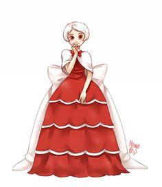 red velvet fullbody by meago.deviantart.com on @deviantART - this is like food anthro