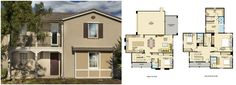 Melody Residence 1 Floorplan. Irvine. Beacon Park. Orange County. New Home. Real Estate.