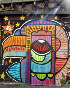 #DACRUZGRAFFITI #paris #urbanartparis #streetart #patm666photos