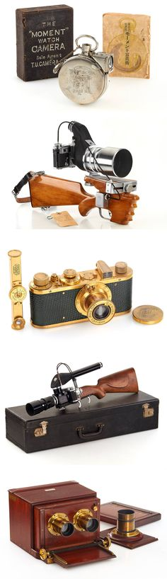 Lovely vintage and antique camera gear from Leica, Nikon and others up for auction