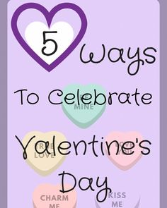 Check out these easy and fun ways to celebrate Valentine's Day!!! #ValentinesDay #movies #chocolates #beach #heart