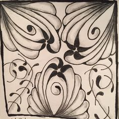 """Tickled To Tangle: """"It's a String Thing"""" #199 Tiles"""