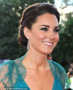The Duke and Duchess of Cambridge attend a gala at the Royal Albert Hall to mark the countdown to the London Olympic Games on 11 May 2012.