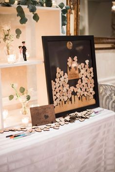 25 Wedding Guest Book Sign-in Table Decoration Ideas Wooden Heart Sign in table Cute Guest sign in b Wedding Reception Entrance, Wedding Guest Table, Wedding Reception Photography, Wood Guest Book, Guest Book Table, Guest Book Sign, Guest Books, Wooden Heart Guest Book, Wedding Signs