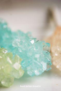 Zucker Kristalle selber züchten...die Anleitung... ein Experiment für und mit Kinder ...how to make your own sugar crystals...experiment for and with kids
