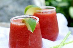 Jordbærslush Watermelon, Fruit, Vegetables, Food, Summer Recipes, The Fruit, Veggies, Veggie Food, Meals