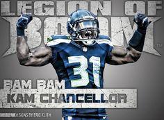Seahawks Kam Chancellor - Legion of BOOM!!