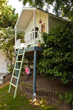 How To Build A Playhouse On Stilts Plans - WoodWorking ...