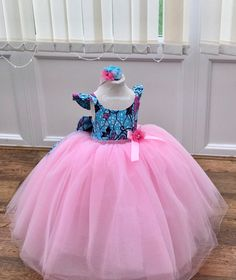 Excited to share the latest addition to my shop: My african princess /special dress / made to order / flower girl Dress made/ african print dress for girls / tulle party Dress - customised Baby African Clothes, African Dresses For Kids, African Print Dresses, African Print Fashion, African Fashion Dresses, Girls Dresses, Flower Girl Dresses, Flower Girls, Ankara Styles For Kids