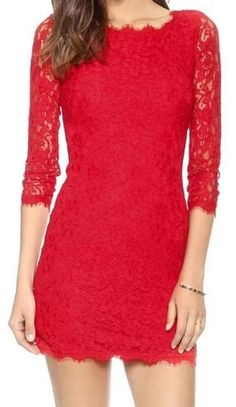Fashion Embroidery Lace Dress