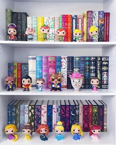 I have been unpacking a lot of my pops recently. This past weekend Chris fished out the Peter Pan set for me and I found most of our… Funko Pop Figures, Pop Vinyl Figures, Funko Pop Display, Bookshelf Inspiration, Library Bookshelves, Disney Rooms, Pop Toys, Pop Collection, Idee Diy