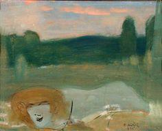 Otto Mäkilä: Gnome, 1945 Gnomes, Figurative, Finland, Surrealism, Mystic, Roman, Paintings, Creative, Artist