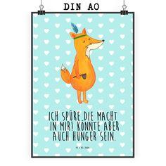 Poster DIN A0 Fuchs Indianer aus Papier 160 Gramm  weiß - Das Original von Mr. & Mrs. Panda.  Jedes wunderschöne Poster aus dem Hause Mr. & Mrs. Panda ist mit Liebe handgezeichnet und entworfen. Wir liefern es sicher und schnell im Format DIN A0 zu dir nach Hause. Das Format ist 841 mm x 1189 mm.    Über unser Motiv Fuchs Indianer  Die Fox Edition ist eine besonders liebevolle Kollektion von Mr. & Mrs. Panda. Jedes Motiv ist wie immer bei Mr. & Mrs. Panda hangezeichnet und wird in unserer…
