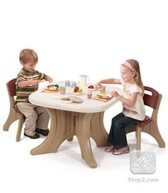 New Traditions Table & Chairs Set™ | Kids Furniture | by Step2