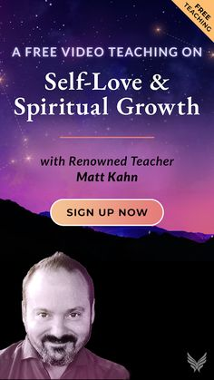 Looking for self love practice products for practicing self love? Matt Kahn teaches ways to practice self love in this free guided teaching. Learn how to practice self love with practices for self-love to become more open to giving and receiving love #selflove #MattKahn #spirituality #selfcare Highly Sensitive Person, Sensitive People, Matt Kahn, Self Respect Quotes, Self Love Quotes, Personal Development Books, Self Development, Spiritual Growth, Women's Health