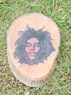 Bob Marley hand burnt by Simon Cook www.pegasusandcrow.com