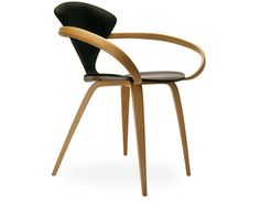 Design Norman Cherner, 1958  Molded plywood, solid beech arms  Made in the USA by The Cherner Chair Company