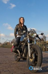 Beemer girls - Page 99 - BMWbikers - Forum Lady Biker, Biker Girl, Motorcycle Bike, Motorbike Girl, Motorcycle Leather, Custom Bmw, Bmw Boxer, R80, Speed Bike