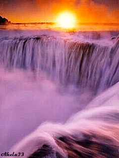 photo by AmandaLK- Beautiful Nature Pictures, Beautiful Nature Wallpaper, Beautiful Gif, Beautiful Sunrise, Nature Images, Nature Photos, Beautiful Landscapes, Gif Animated Images, Waterfall Paintings