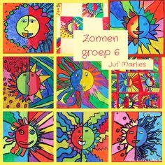 1000 images about eigen klas knutsels en tekeningen on pinterest met van and tekenen - Warme en koude kleuren in verf ...