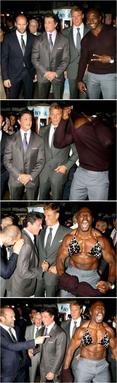 The Expendables love me some Terry crews