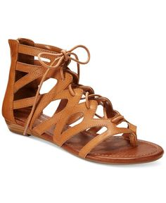 Stitchfix - tan sandals like these would be awesome! Rampage Santini Flat Gladiator Sandals