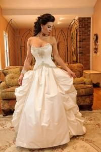 St. Pucchi Look Alike Wedding Gown, Custom Made