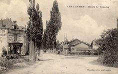 Les Laumes. Route de Venarey.