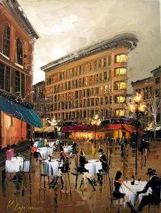 Gas Town Cafe - Kal Gajoum