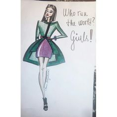 #fashionillustration#girls !!!