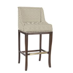 Marcello Counter Stool with Pewter Nail Head Trim