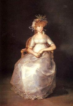 Francisco José de Goya y Lucientes (Spanish painter, 1746–1828) Contessa of Chinchon