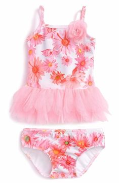 aff7536d3d0a Kate Mack  Dottie Daisy  Two-Piece Swimsuit (Baby Girls). babiezinfo · baby  swim trunks