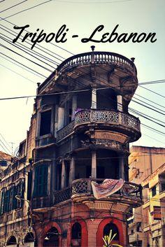 Streets of Tripoli (Lebanon)