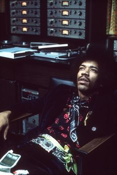 Dream Away, Babe. We need you. Jimi Hendrix with Scully 280 Tape Machines