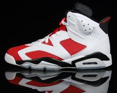 """473a1bd2652134 Air Jordan VI """"Carmine"""" returns 2014 one of my faves- coming back in the  spring of (u can bet your last dollar I will be in line)"""