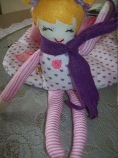 Nataly De Biase: Passo a Passo boneca pano