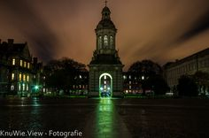 Dublin, Trinity Collage by night - photo by Wiedemann Christoph