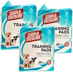 Simple Solution Original Puppy Training Pads 150 Pack >>> Learn more by visiting the image link. (This is an affiliate link) Dog Training Pads, Pet Supplies, Puppies, Learning, Simple, Image Link, Pets, Awesome, Check