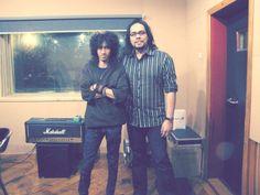 Eben Andreas at MEKEL Studio with Jesse Lantang