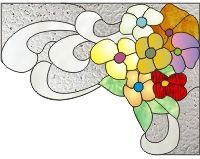 pinterest stained glass coins | Stained glass coins or corners on Pinterest | Stained Glass, Bookends ...