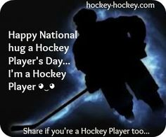 Happy Hug a Hockey Player's day ◕‿◕ Terrible Pick Up Lines, Hockey News, Pittsburgh Penguins Hockey, Hockey Players, My Passion, Hug, My Love, Happy, Sports