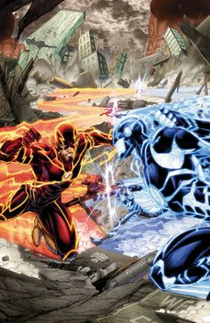 THE FLASH #35 Written by ROBERT VENDITTI and VAN JENSEN Art and cover by BRETT BOOTH and NORM RAPMUND MONSTERS Variant cover by RYAN OTTLEY On sale OCTOBER 22 • 32 pg, FC, $2.99 US • RATED T Retailers: This issue will ship with two covers. Please see the order form for details. It's The Flash vs. Future Flash as these two super-speedsters battle for the fate of Wally West! Will a Flash die?