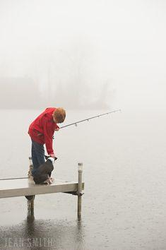 michigan lake fishing kids | jean smith photography