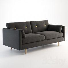 VrayWorld - Anchor Medium Sofa