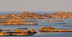 The lighthouses on Ursholmen. Photo: Kjell Holmnér, Light vision