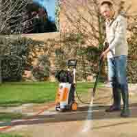 Stihl pressure washers for a #SpringClean