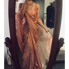 dresses made from sarees silk ~ dresses made from sarees dresses made from sarees party wear dresses made from sarees salwar kameez dresses made from sarees silk dresses made from sarees indian weddings Lehenga Designs, Kurta Designs, Saree Blouse Designs, Indian Blouse Designs, Mehndi Designs, Diana Penty, Ghagra Choli, Anamika Khanna, Neeta Lulla