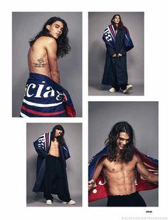 Male Fashion Trends: Rafael Perez y Vito Basso en un layering retro para Attitude Magazine